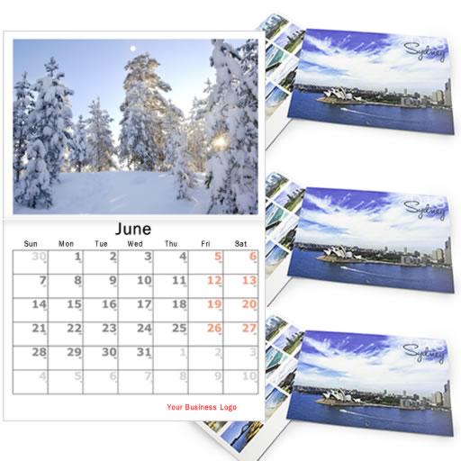 calendar category saddle stitch